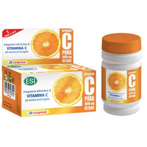 Vitamina C Pura retard 30 compresse - Esi