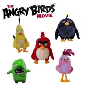 Angry Birds film peluche 25 cm Qualità velluto Bomb Leonard Red Stella Chuck