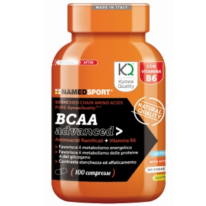 NAMED SPORT BCAA ADVANCED 100 TABLETS