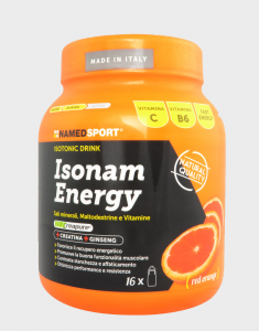 NAMED SPORT ISONAM ENERGY RED ORANGE 480 gr