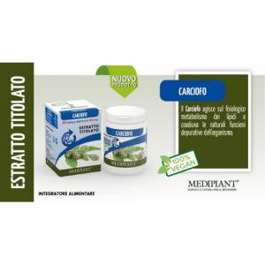 Carciofo 50 capsule da 500mg - Mediplant