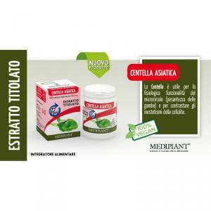 Centella Asiatica 50 capsule da 550mg - Mediplant