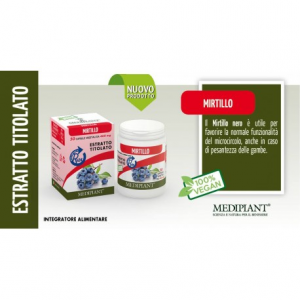 Mirtillo 50 capsule da 460mg - Mediplant