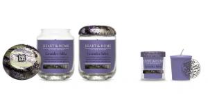 Candela in cera di soia - Lavanda e Salvia - Heart & Home