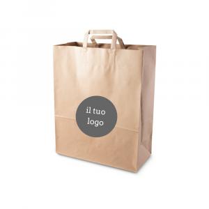 Shopper carta riciclata personalizzate - 28x36