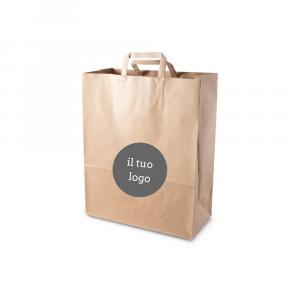 Shopper carta riciclata personalizzate - 22x29