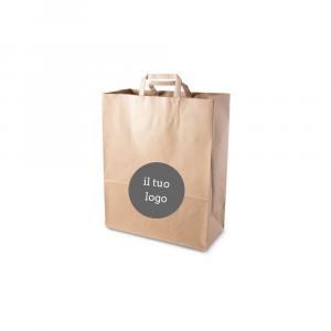 Shopper carta riciclata personalizzate - 18x25
