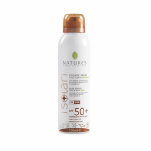 Spray Solare viso/corpo SPF 50+ Bambini 150ml - Nature's