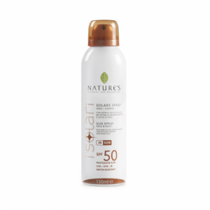 Spray solare viso/corpo SPF 50 150ml - Nature's