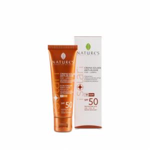 Crema solare antirughe viso/labbra SPF 50 - Nature's
