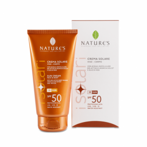 Crema solare SPF 50 viso/corpo 150ml - Nature's