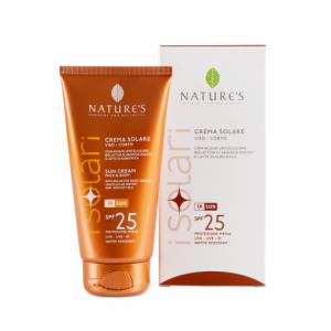 Crema solare SPF 25 viso/corpo 150ml - Nature's