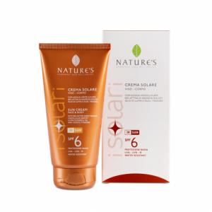 Crema solare SPF 6 viso/corpo 150ml - Nature's