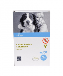 Collare barriera oil Neem Camon Protection line 60/75 cm. per cani