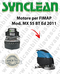 MX 55 Ed. 2011 MOTORE aspirazione SYNCLEAN lavapavimenti FIMAP