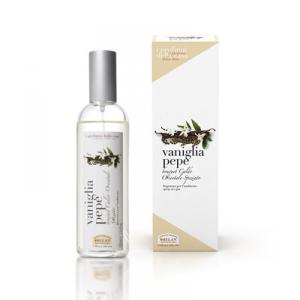 Fragranza per l'ambiente spray Vaniglia e Pepe - Helan