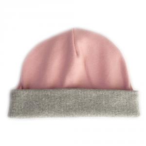 Cappellino in cotone biologico con bordo