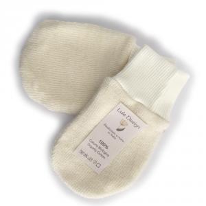 Manopoline cotone 100% bio e lana