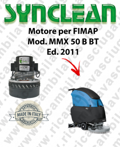 MMX 50 B-BT Ed. 2011 MOTORE aspirazione SYNCLEAN lavapavimenti FIMAP