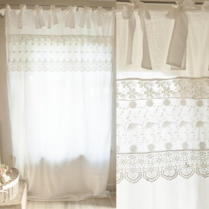 Angelica home country follie shop online shabby chic for Tende shabby chic on line