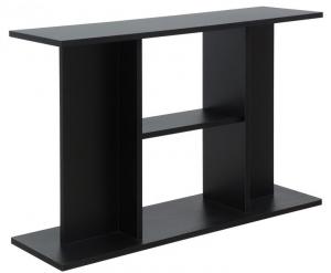 Tavolo supporto Milo diverse dimensioni modello libreria nero