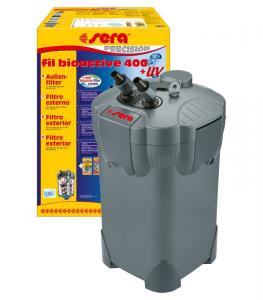 FILTRO ESTERNO SERA FIL BIOACTIVE 400 - CON LAMPADA UV-C 5W PER ACQUARI FINO A 400 LITRI