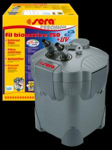 FILTRO ESTERNO SERA FIL BIOACTIVE 250 - CON LAMPADA UV-C 5W PER ACQUARI FINO A 400 LITRI-2