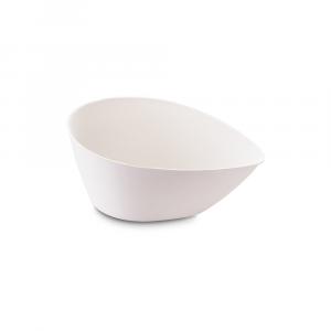 Piatti monouso bio ovali piccoli - fondina design DROP