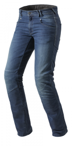 REV'IT CORONA L34 Motorcycle Jeans - Middle Blue