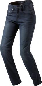 REV'IT BROADWAY LADIES L32 Woman Motorcycle Jeans - Dark Blue