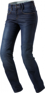 REV'IT MADISON LADIES L32 Woman Motorcycle Jeans - Middle Blue
