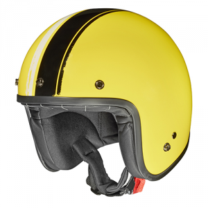GIVI 20.7 OLDSTER Jet Helmet - Yellow and Black