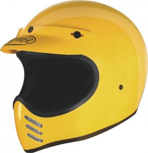 Casco integrale Premier Trophy MX giallo