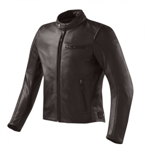 REV'IT FLATBUSH VINTAGE Motorcycle Leather Jacket - Brown