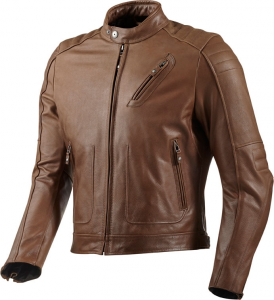 REV'IT REDHOOK Giubbotto Moto in Pelle - Marrone
