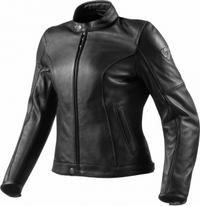 REV'IT ROAMER LADIES Giubbotto Moto Donna in Pelle - Nero