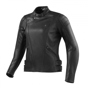 REV'IT BELLECOUR LADIES Woman Motorcycle Leather Jacket - Black