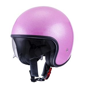SUOMY 70'S Casco Jet - Rosa Glitter