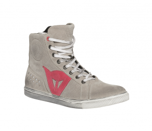 DAINESE STREET BIKER Woman Shoes - Grey and Coral Pink
