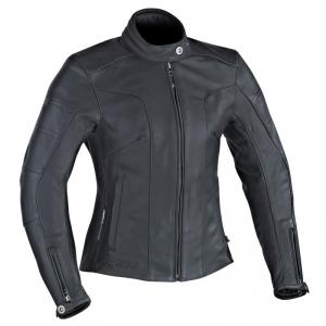 IXON CRYSTAL SLICK Woman Motorcycle Leather Jacket - Black