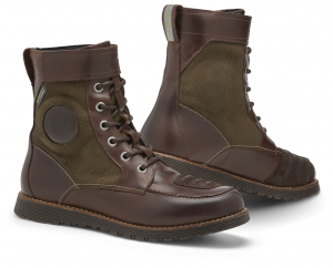 REV'IT ROYALE H2O Motorcycle Shoes - Brown and Olive