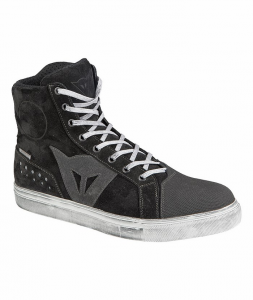 DAINESE STREET BIKER D-WP Man Shoes - Black and Anthracite Grey