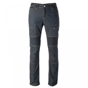 OVERLAP ROAD KEROSENE Jeans Moto - Cherosene