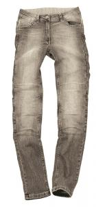 MOTTO WEAR STELLA Jeans Moto Donna - Grigio