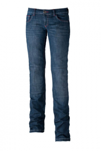 MOTTO WEAR KIRA X Jeans Moto Donna - Blu