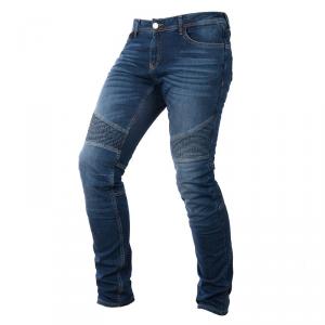 OVERLAP IMOLA SMALT Jeans Moto Donna - Blu Chiaro