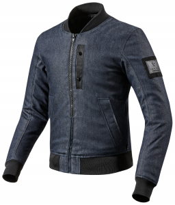 REV'IT INTERCEPT Motorcycle Denim Jacket - Dark Blue
