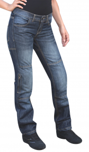 BEFAST DANITOUR LADY Motorcycle Jeans - Blue