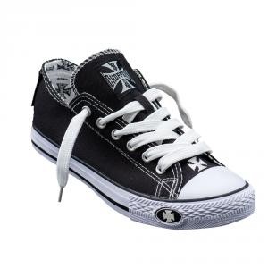 Scarpe West Coast Choppers Warriors Low Top Nero