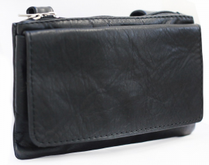BEFAST CUSTOM / SPECIAL Leather Belt Bag - Black